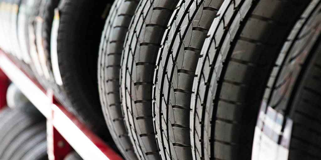 Why are tires black? For better protection and durability out on the open road!