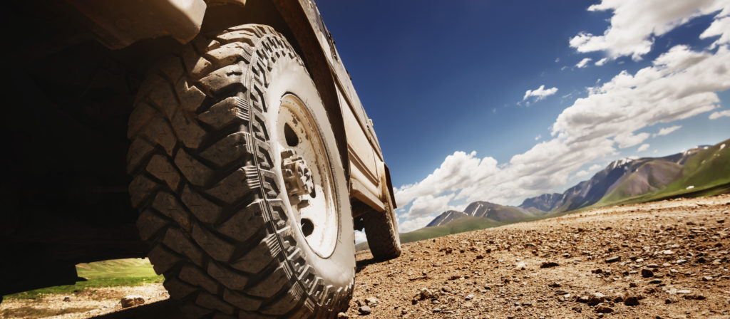 Loud mud tires may be a bother on paved roads but they perform well on mud terrain!